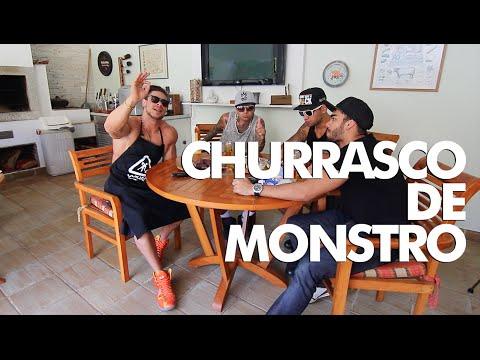MONSTRO NA COZINHA - Churrasco de Monstro