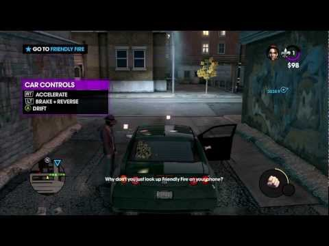 Let's Play Saints Row: The Third  | Part 2 ~ Shaundi loves to get rammed... by cars.