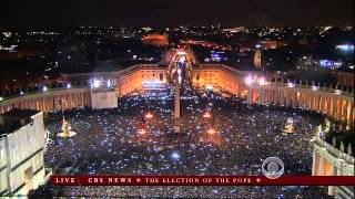 Pope Francis announced at St. Peter's Basilica