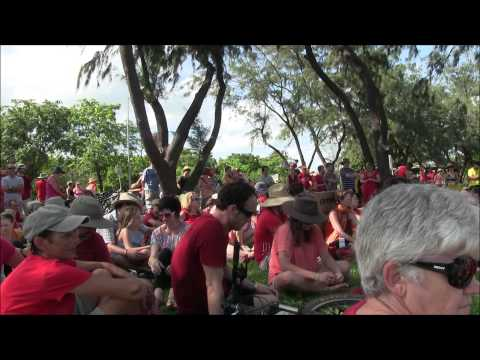 Climate Action Rally, Darwin, Australia, 17 November 2013