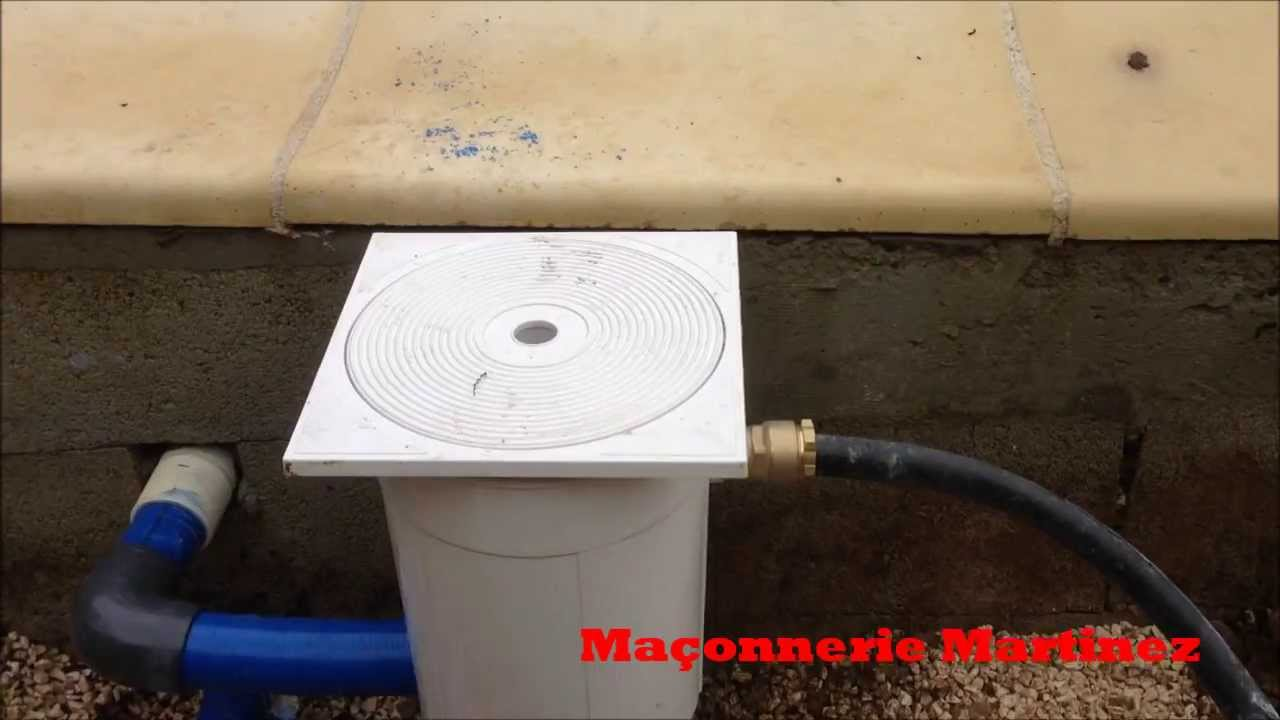 Comment installer un r gulateur de niveau eau pour piscine for Youtube cash piscine