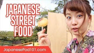 Street Food in Japanese Festivals