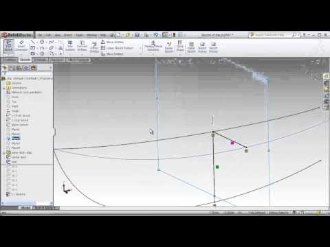 DSID129, Solidworks Lecture, Lofts with Guide Curves