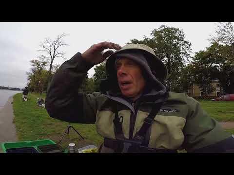 Рыбалка на Неве  Осень 2017г не много об удилищах MAVER DIAMOND   и катушке DUNAEV)