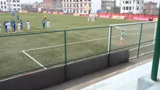 Freekick goal by sandeep rai