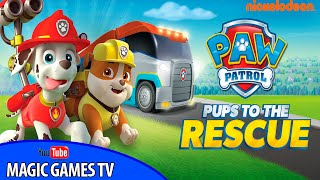 Paw Patrol Pups to the Rescue by Nickelodeon (Ipad Gameplay Video)