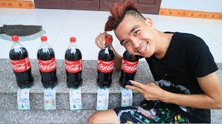 PHD | Thử Thách Uống Cocacola