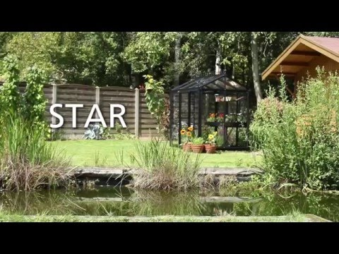 Aufbauvideo Gewächshaus Glashaus Star