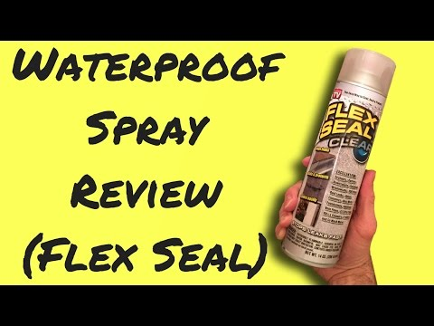 Fix Roof Leaks with Rubber Spray - Product Review
