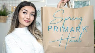 HUGE SPRING PRIMARK TRY ON CLOTHING HAUL!