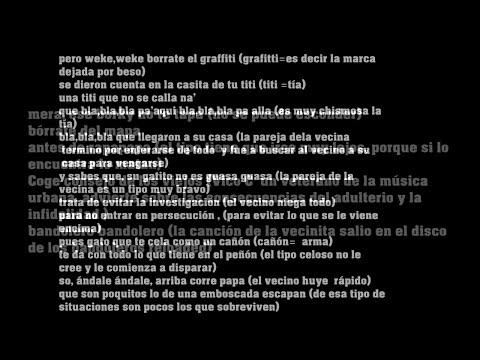 ¿Es cristiana la canción la vecinita de Vico c ?(HD)