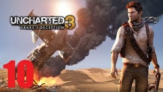 Uncharted 3: Drake's Deception Story Walkthrough (Part 10)