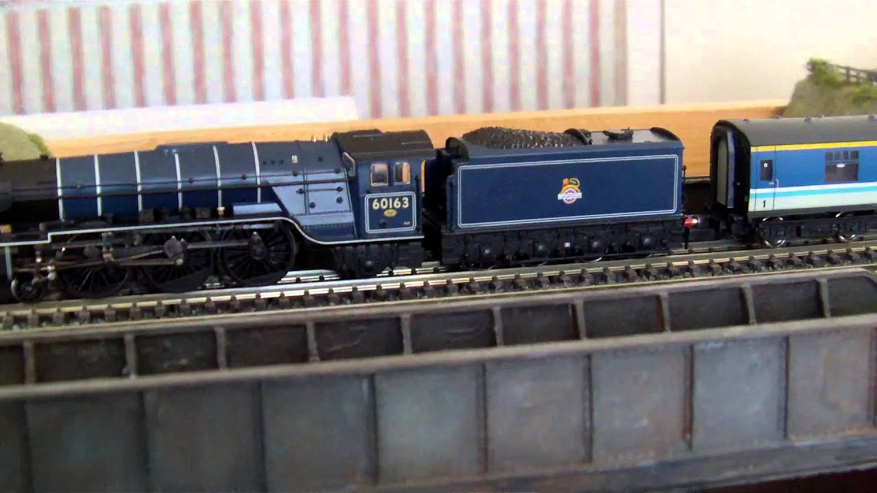 N gauge steam locomotive kits