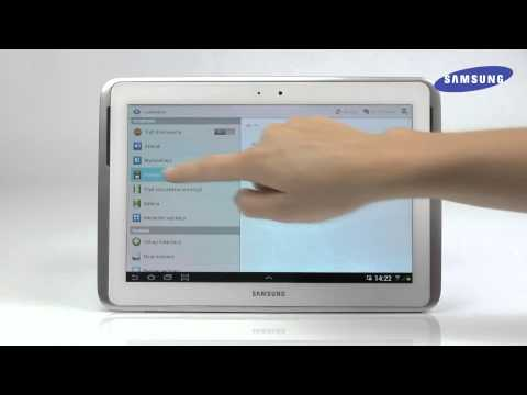 Tablet Samsung Galaxy Note 10.1 - Instalacja kart SIM i SD