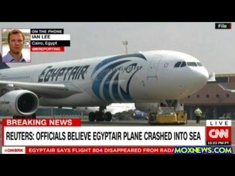 BREAKING! Officials Believe EgyptAir Flight MS804 Has Crash Into The Mediterranean Sea!