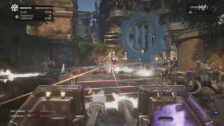 Gears Of War 4 Horde Dement Vague 50 Sur Impasse