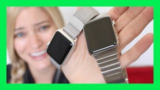 NEW Apple Watch?! Steel version! | iJustine