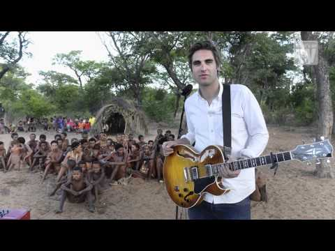 Singing In The Rainforest's Charlie Simpson 'My electric guitar bemused the tribe!'