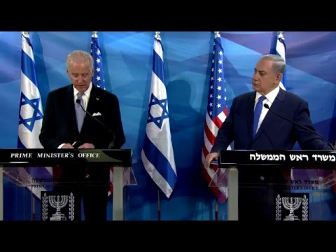 PM Netanyahu Meets US VP Joe Biden