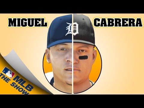 MIGUEL CABRERA EVOLUTION [MLB 05 - MLB 16 THE SHOW]