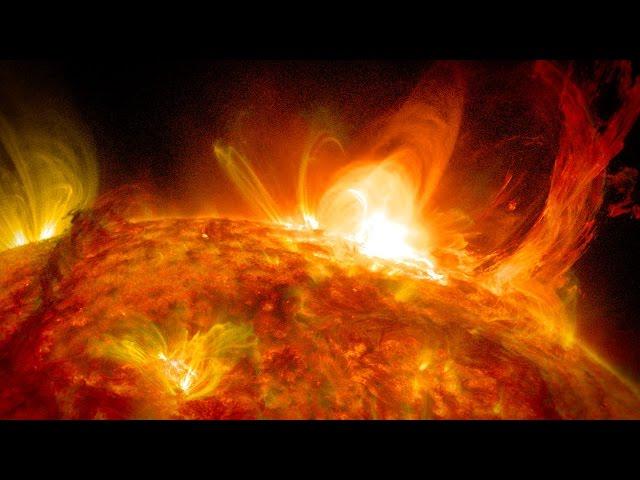 NASA | Twisting Solar Eruption and Flare