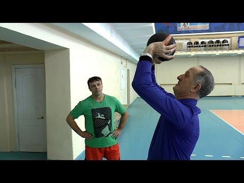 Передача сверху. Обучение волейболу взрослых