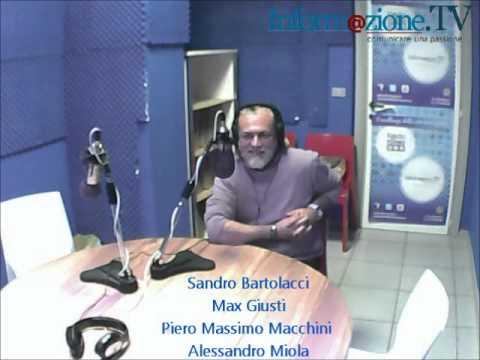 SABATO LIVE con Sandro Bartolacci, Alessandro Miola, Piero Massimo Macchini e Max Giusti 19/04/2014