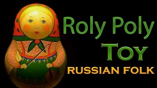 Roly Poly Toy Doll of Russian Tradition