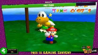The Best Gamers Live 06/28/16 Mario 64