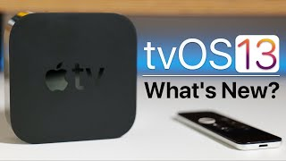 Apple tvOS 13 is Out! - What's New?