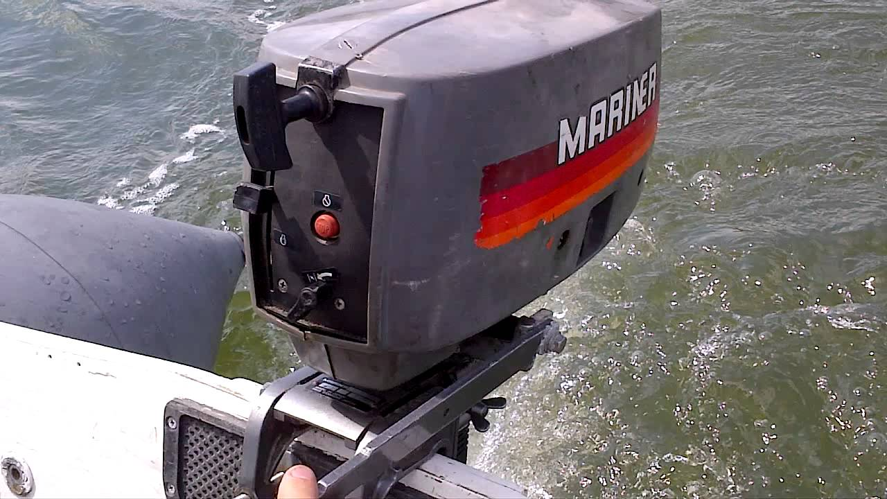 Mariner 2hp Two Stroke Outboard Engine Short Shaft For