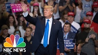 President Donald Trump Speaks At A Rally In Ohio | NBC News