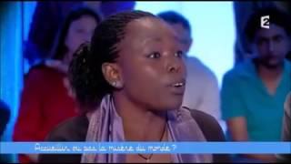 Fatou Diome 'clashe' les anti immigration et l'hypocrisie de l'UE