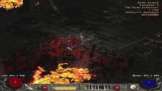 No drops if monster dies in the air wow - Diablo 2