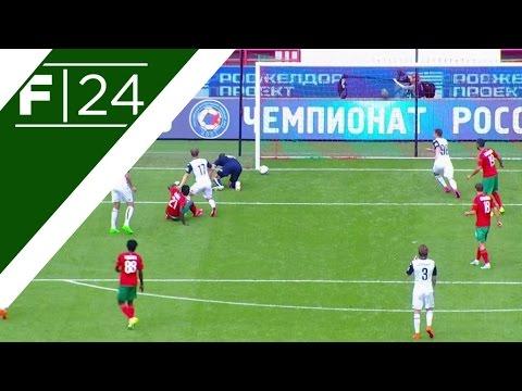A terrible mistake from Krasnodar goalkeeper Andriy Dikan gifts Lokomotiv Moscow striker Omar Niasse the equaliser in their Russian Premier League encounter.