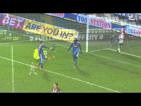 Match Highlights: Cardiff City 3 Brentford 2