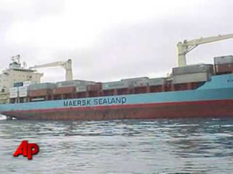 A source says a Navy team is on board the Maersk Alabama,...