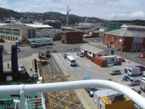New Zealand's ferry travel from Wellington to Picton (part 1)