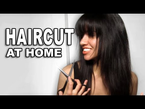 How to Cut Layers & Bangs at Home - CreaClip