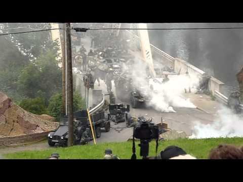 Remagen reenactment Tidioute, PA 2014.