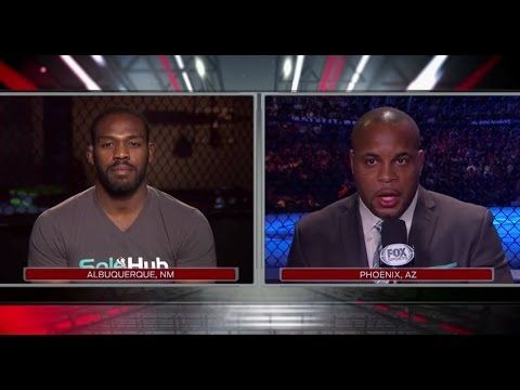 UFC 182: Jones and Cormier FOX Interview