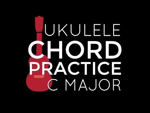 Chord Playalong Practice C Major - Ukulele School