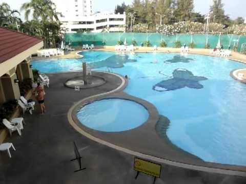 Jomtien Beach Condominium Swimming Pool Pattaya Thailand Youtube