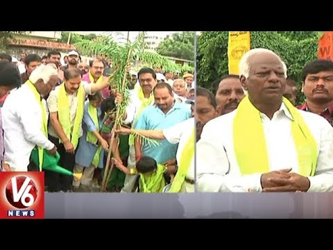 Dy CM Kadiyam Srihari Plants Saplings At Hanamkonda Arts & Science College | Haritha Haram | V6 News