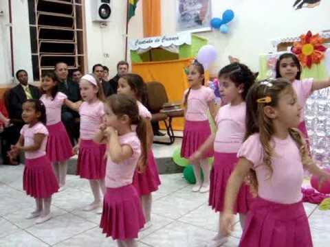 Coreografia Infantil Meninas dos Olhos de Deus
