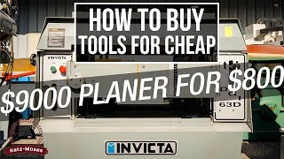 Buying Cheap Tools at Auction