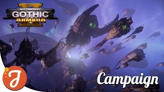 Eating Worlds On The Highest Difficulty | Tyranid Campaign #1 | Battlefleet Gothic: Armada II