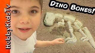 Surprise DINOSAUR BONES! Jurassic Sandbox Toys, TMNT Minion Blind Bagzilla HobbyKidsTV