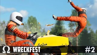 PLAYING CHICKEN WITH VANOSS! | Wreckfest #2 Funny Moments With Friends!