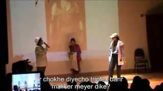 Natok - Purnodoirgho Bangla Chaya Chobi : Bhalobasha Dibi Kina Bol